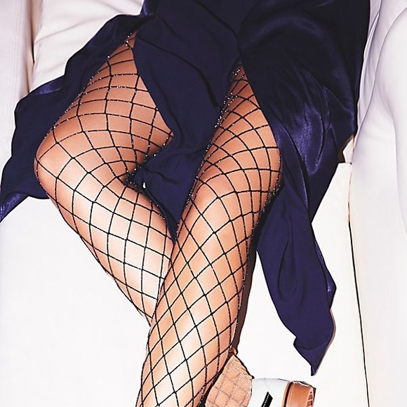 Free People Accessories - free people fishnet tights